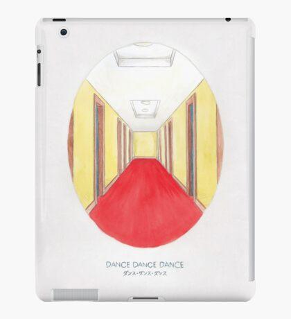 Haruki Murakami's Dance Dance Dance // Illustration of The Dolphin Hotel in Watercolour & Pencil iPad Case/Skin