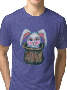 rabbit in the hat Tri-blend T-Shirt