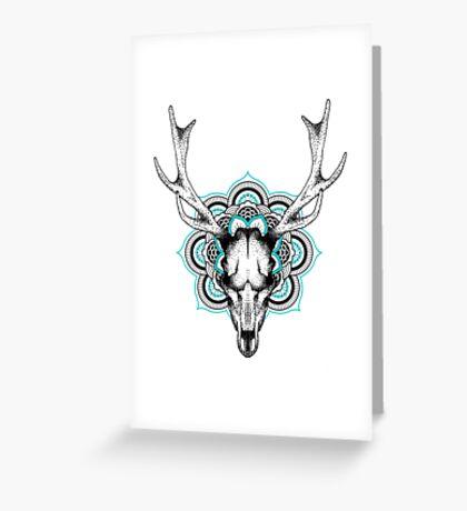 Mandala deer Greeting Card