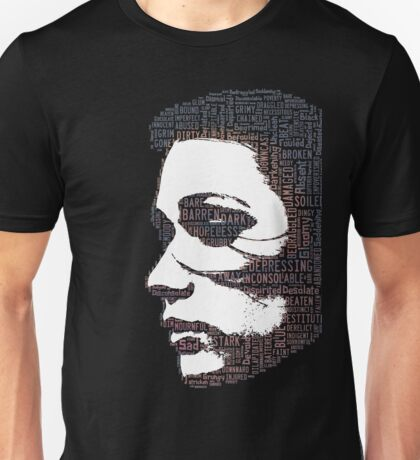 Woman, can be made of many things. Damaged, Beaten, Abused, Broken but STRONG Unisex T-Shirt