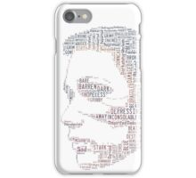 Woman, can be made of many things. Damaged, Beaten, Abused, Broken but STRONG iPhone Case/Skin