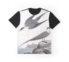 Arctic Yager, by John Audubon Graphic T-Shirt
