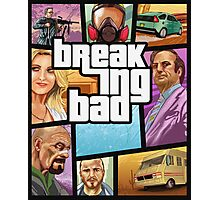 Breaking Bad GTA Photographic Print