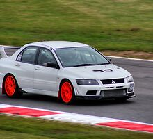 Evo on the Track by Vicki Spindler (VHS Photography)