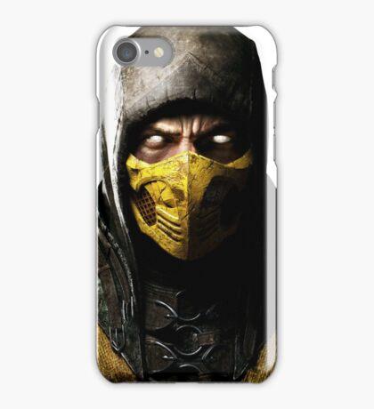 Mortal Kombat X - Scorpion iPhone Case/Skin