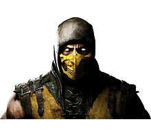 Mortal Kombat X - Scorpion Photographic Print