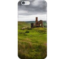Mining on The North York Moors iPhone Case/Skin
