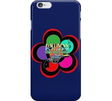 HAPPINESS is a Warm Gun iPhone Case/Skin