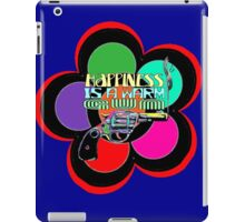 HAPPINESS is a Warm Gun iPad Case/Skin
