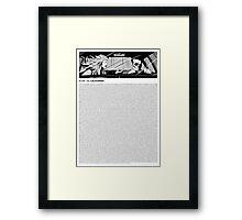 blink-182 - California (lyrics) Framed Print