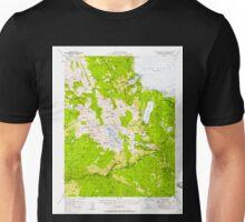 USGS TOPO Map California CA Fallen Leaf Lake 297461 1955 62500 geo Unisex T-Shirt