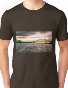 Sunset on the Harbour Unisex T-Shirt