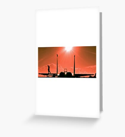 F15 EAGLE PRIDE OF THE USAF Greeting Card