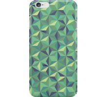 Cool green 3d triangular pattern iPhone Case/Skin