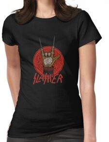 Slasher Womens Fitted T-Shirt