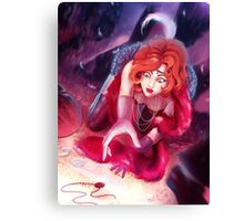 Murder at the Burlesque Canvas Print