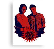 Supernatural Red Canvas Print