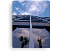 Unisource building, looking up Canvas Print