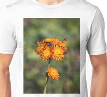 Fox and Cubs Wild Flower Unisex T-Shirt