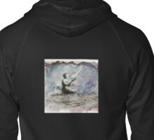 Whispers and Moments Zipped Hoodie