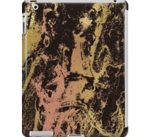 Rose gold and gold marbled iPad Case/Skin