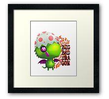 big bad dragon Framed Print