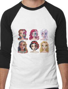 Disney Sugar Skulls. Men's Baseball ¾ T-Shirt