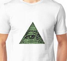 Illuminati eye Unisex T-Shirt