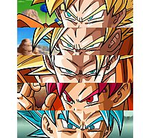 Son Goku - Eyes Evolution Photographic Print