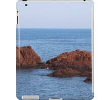 Red Rocks Islands - Cannes, France. iPad Case/Skin