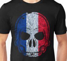 Frankreich Totenkopf MMJ France Skull Unisex T-Shirt
