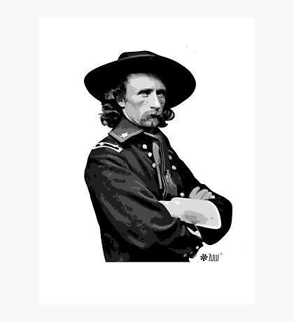 Tinent Coronel Custer Photographic Print