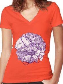 Stuff Women's Fitted V-Neck T-Shirt
