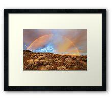 Sunrise Rainbow Framed Print
