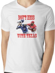 dont mess with texas Mens V-Neck T-Shirt