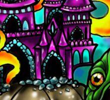 Fantasy Castle Sticker