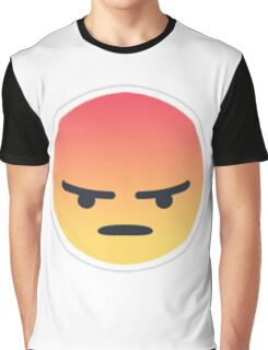ANGERY REACTS ONLY Graphic T-Shirt