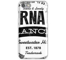 Abernathy Ranch iPhone Case/Skin