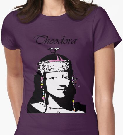 Theodora Womens Fitted T-Shirt