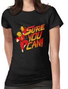 SURE YOU CAN! Womens Fitted T-Shirt