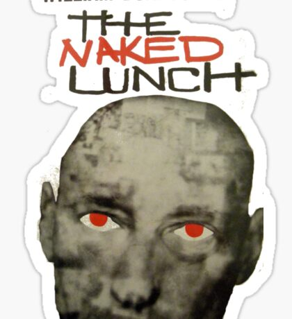 Naked Lunch - William Burroughs tribute Sticker