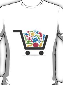 Clothes a cart T-Shirt