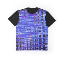 Blue frequency Graphic T-Shirt