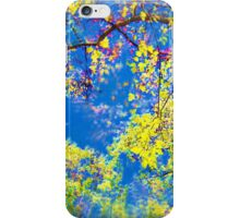 Air Brushed Skies Through The Trees iPhone Case/Skin