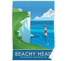 Beach Head Lighthouse Poster