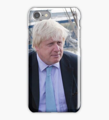 Mayor Boris Johnson marks Totally Thames with visit to TS Tenacious iPhone Case/Skin