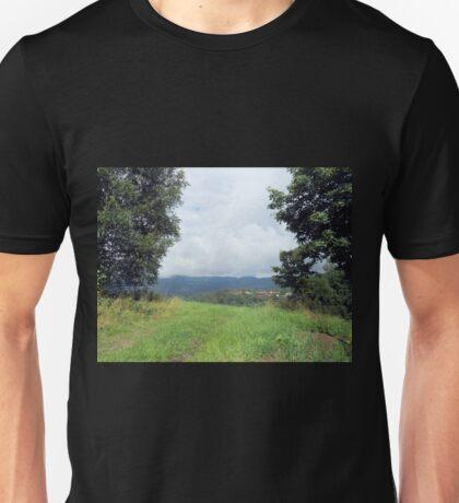 Cloudy Day in Skein, Norway Unisex T-Shirt