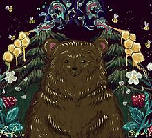 Bearly in heaven by pidzson