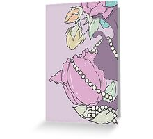 A Study In Rococo #3 Greeting Card