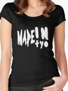 MADEINTYO WHT Women's Fitted Scoop T-Shirt